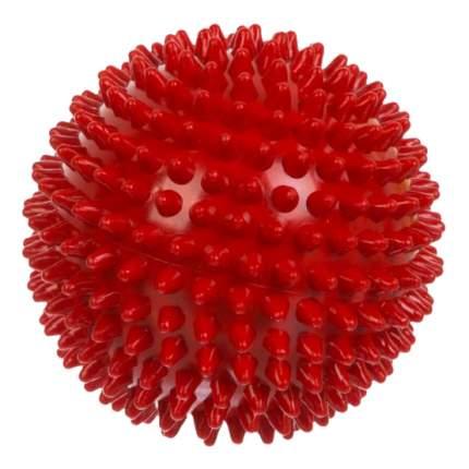 Мячик детский Альпина Пласт Ёжик 120 мм красный