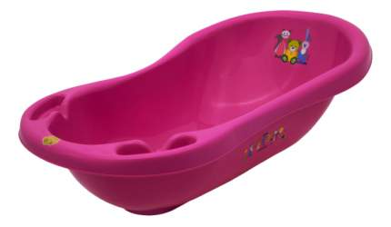 Ванночка пластиковая Maltex Mishka розовый