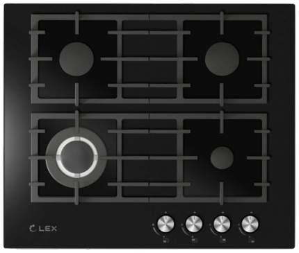 Встраиваемая варочная панель газовая LEX GVG 646 BL Black