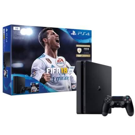 Игровая приставка Sony PlayStation 4 1Tb FIFA 18 + PS Plus 14 дней