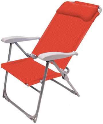Кресло-шезлонг НИКА 2 складное К2 Гранат