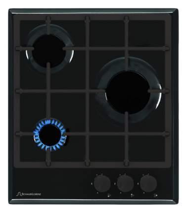 Встраиваемая варочная панель газовая Schaub Lorenz SLK GS4220 Black
