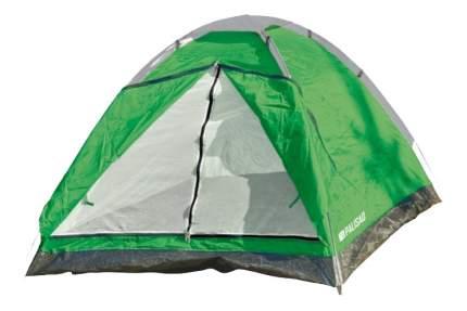 Палатка Palisad Camping двухместная зеленая/серая