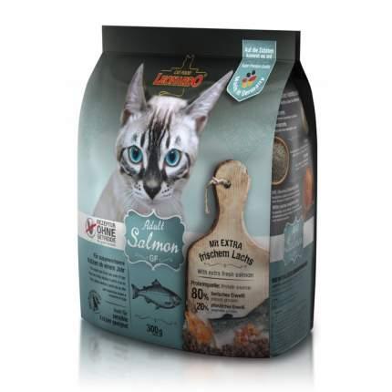 Сухой корм для кошек Leonardo Adult Salmon GF, беззерновой, лосось, 0,3кг