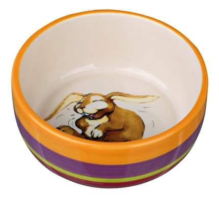 Одинарная миска для кроликов TRIXIE, керамика, разноцветный, 0.25 л, 11 см