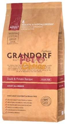 Сухой корм для собак Grandorf Adult All Breeds, утка, 3кг