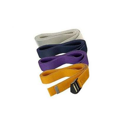 Ремень для йоги AKO yoga Бодхи Де-Люкс, фиолетовый