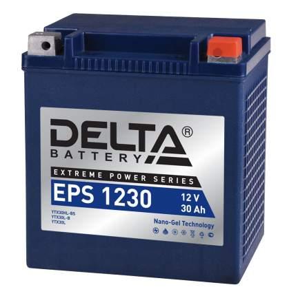 Аккумулятор автомобильный  Delta EPS 1230 30 Ач