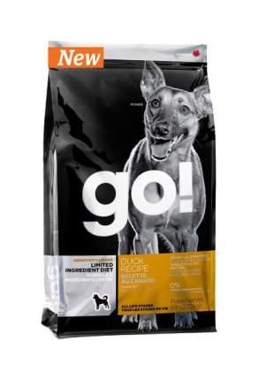 Сухой корм для собак GO! Sensitivity + Shine Grain Free Duck Recipe, утка, 11.35кг