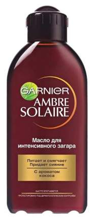 Масло для загара Garnier Ambre Solaire с ароматом кокоса, 200 мл