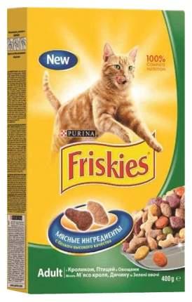 Сухой корм для кошек Friskies, кролик и овощи, 0,4кг