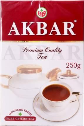 Чай черный Akbar premium цейлонский крупнолистовой 250 г