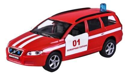 Модель автомобиля 1:36 Volvo V70 Пожарная охрана 13 см Пламенный мотор 870189