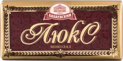 Шоколад тёмный Бабаевский люкс 100 г