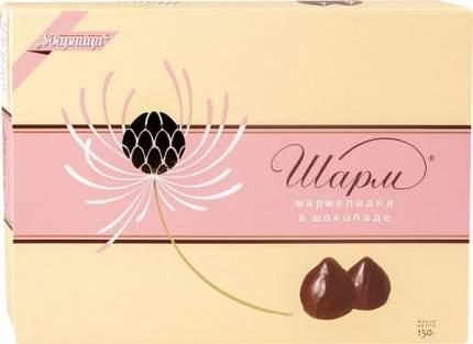 Мармеладки в шоколаде Ударница шарм 150 г