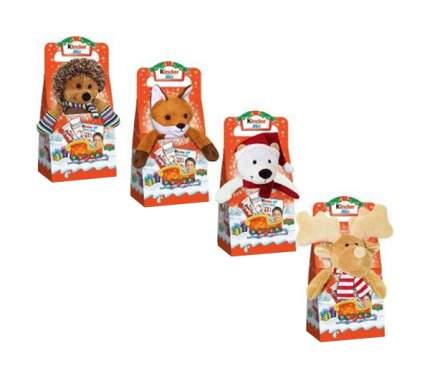 Подарочный набор Kinder микс с плюшевой игрушкой 137 г