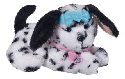 Мягкая игрушка Hasbro Зверята FurReal Friends A4962 Чёрно-белый щенок в ошейнике