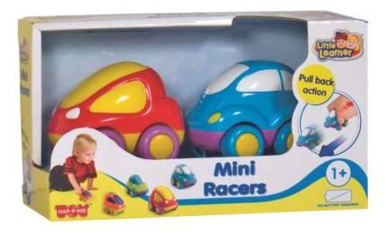 Машинки: красная+синяя Happy Kid Toy 315G