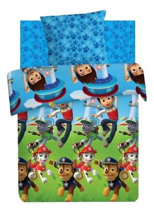 Комплект детского постельного белья Непоседа 1,5 хлопок Щенячий патруль Райдер и щенки