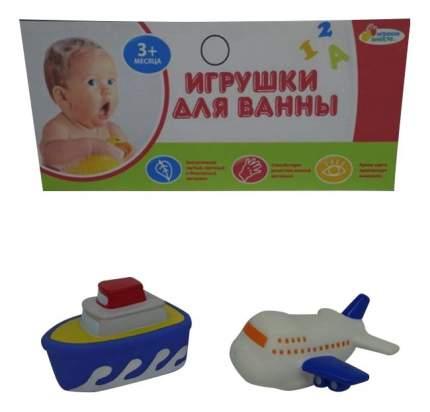 Игрушки для ванной Корабль и самолет Играем вместе LXB90_256