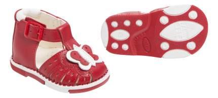 Сандалии Таши Орто Бабочка красные 17 размер