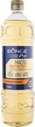 Масло подсолнечное Bunge Pro рафинированное дезодорированное 1 л