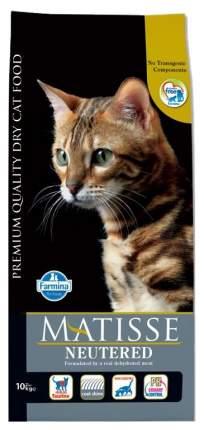 Сухой корм для кошек Farmina Matisse Neutered, для стерилизованных, курица, 10кг