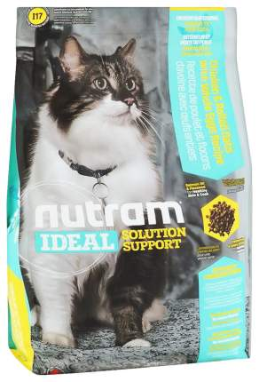 Сухой корм для кошек Nutram Indoor, для домашних привередливых, домашняя птица, 0,4кг