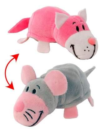 Мягкая игрушка Вывернушка 2 в 1 Розовый кот-Мышь1 TOY Т10928