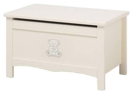 Ящик для игрушек Erbesi Incanto Слоновая кость