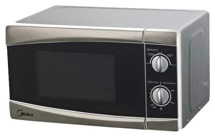 Микроволновая печь соло Midea MM717CPS silver/black
