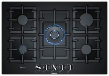 Встраиваемая варочная панель газовая Bosch PPQ7A6B90R Black
