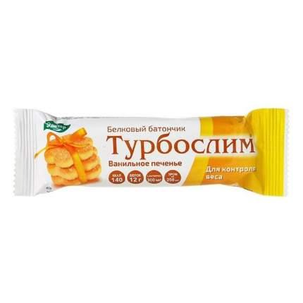 Турбослим Эвалар батончик ванильное печенье белковый 50 г