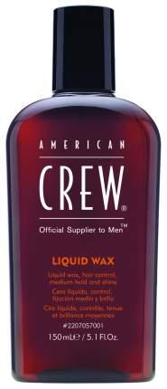 Воск для укладки American Crew Liquid Wax 150 мл