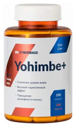 Добавка для здоровья CyberMass Yohimbe 100 капс. натуральный