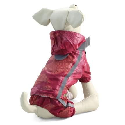 Костюм для собак Triol размер 3XL унисекс, красный, длина спины 50 см