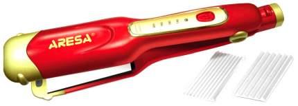 Выпрямитель волос Aresa AR-3322 Gold/Red