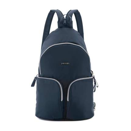 Рюкзак Pacsafe Stylesafe Sling Backpack синий 6 л