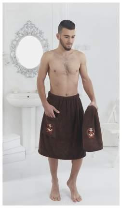 Набор для сауны мужской Karna Pamir 2 предмета Коричневый