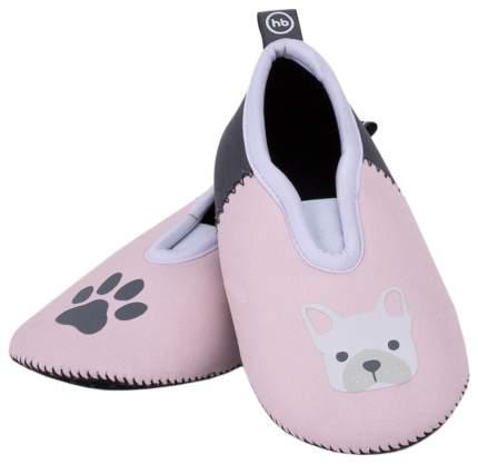 Плавательные тапочки Happy BabyAgua Shoes 26 размер розовый; черный