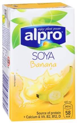 Напиток соево-банановый Alpro обогащенный кальцием и витаминами 0.25 л