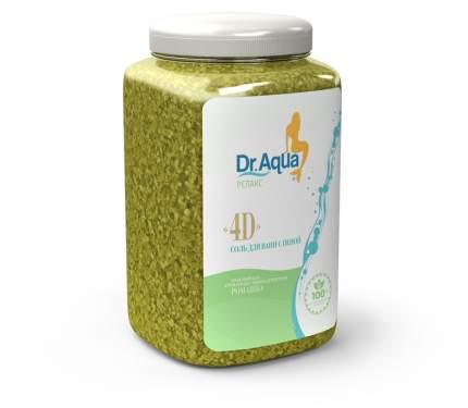 Соль морская ароматная с пеной Ромашка 4D Dr. Aqua 750 гр