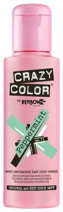 Краска для волос Crazy Color Semi-Permanent Hair Color Cream 71 Peppermint 100 мл