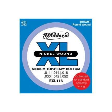 Струны для электрогитары D ADDARIO EXL116