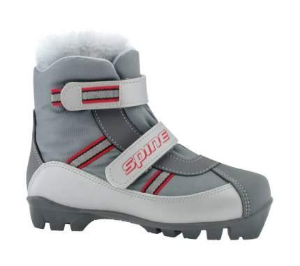 Ботинки для беговых лыж Spine Baby NNN 2019, grey, 37-38