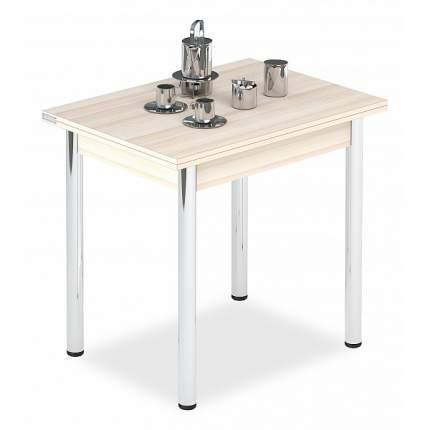 Кухонный стол Leset Стол обеденный Лиль 1Р 80-120х60-80х75,2 см хром