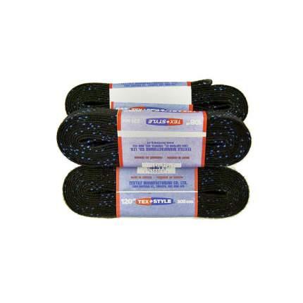Шнурки для коньков Tex Style W918 черные, 2,74 м