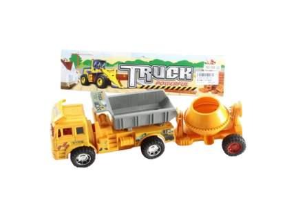 """Инерционная машина """"Строительный грузовик с прицепом"""" Shantou"""