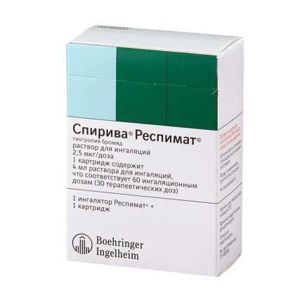 Спирива Респимат раствор 2.5 мкг/доза 4 мл