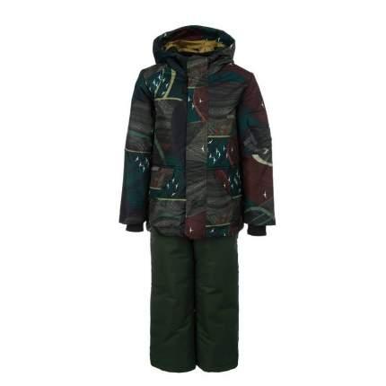Комплект верхней одежды Emson, цв. зеленый р. 104